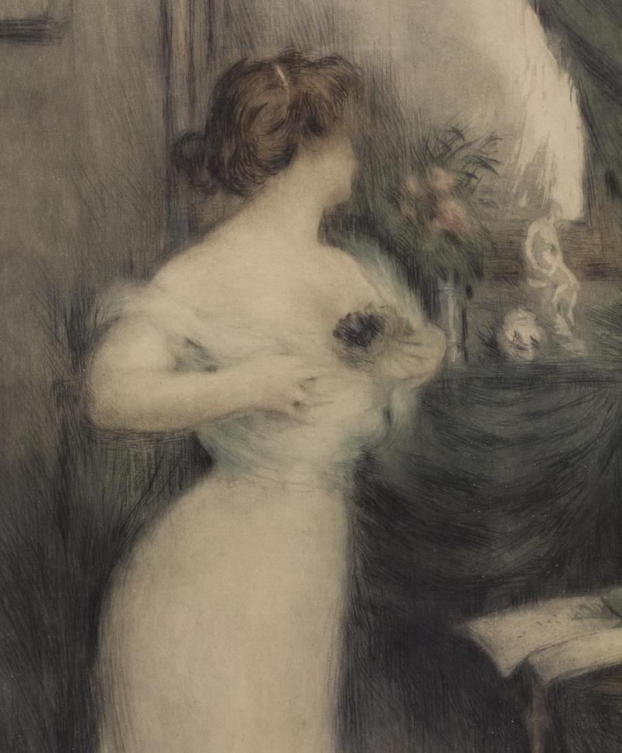 MANUEL ROBBE (1872-1936) BOUQUET DE VIOLETTES - 3