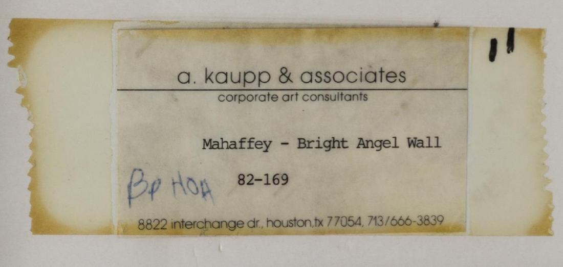 MERRILL MAHAFFEY (NM 1937) 'ANGEL WALL' WATERCOLOR - 4