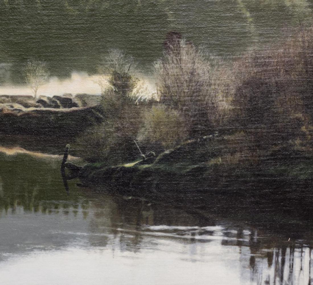 JAMES VAN PATTEN (WA B. 1939) LANDSCAPE WITH LAKE - 2
