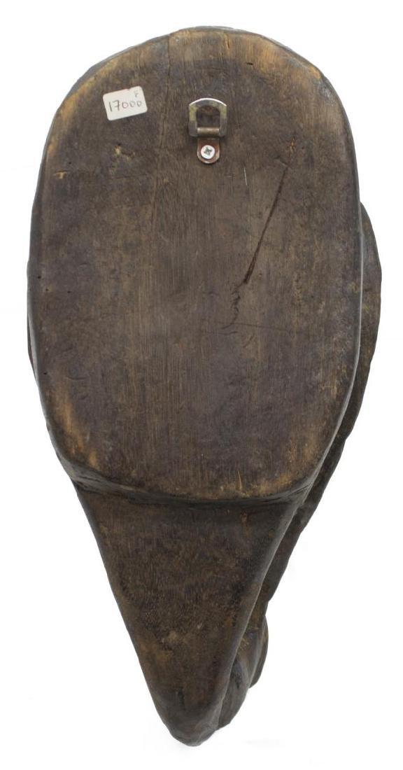 (2) NEW GUINEA CARVED WOOD MASKS, C. 1960-1980 - 5