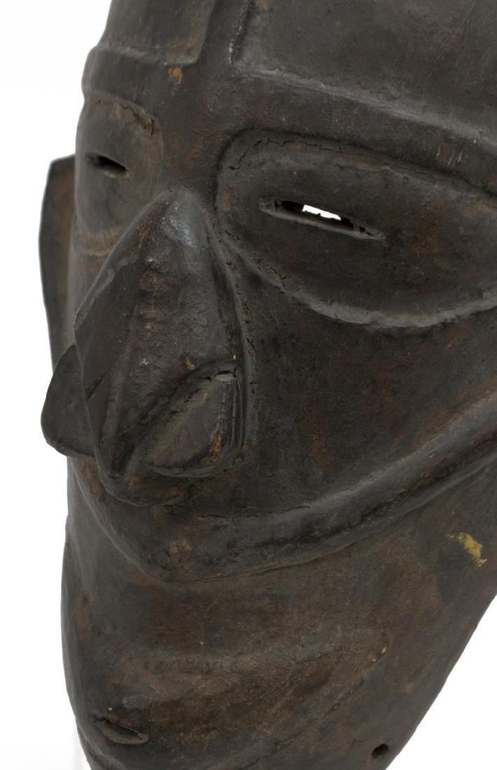 (2) NEW GUINEA CARVED WOOD MASKS, C. 1960-1980 - 7
