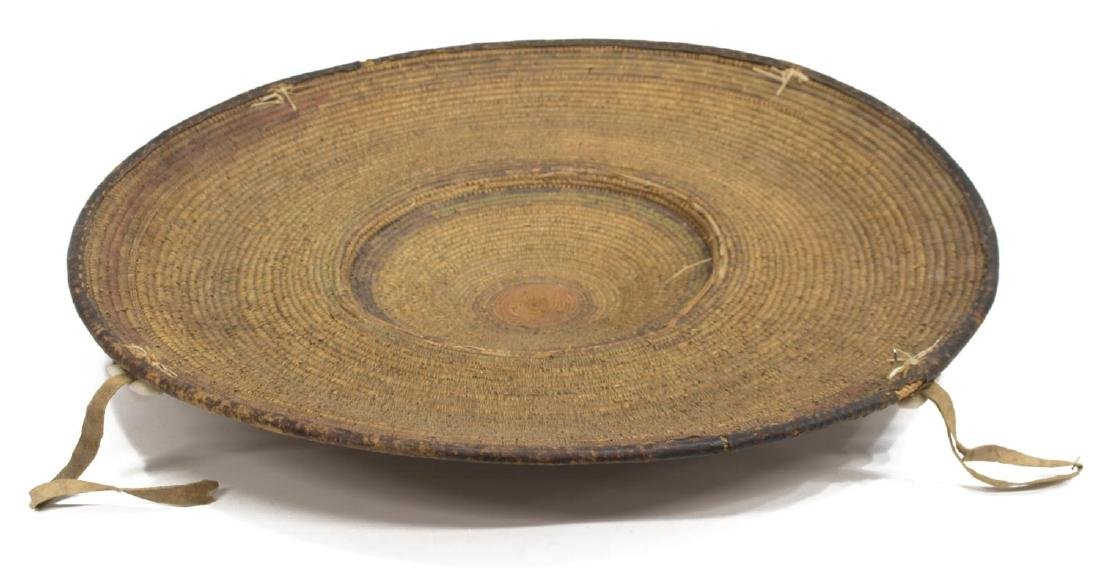 SUDANESE BASKETRY FOOD TRAY
