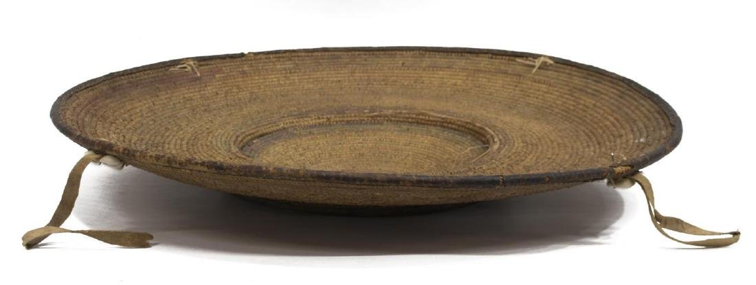 SUDANESE BASKETRY FOOD TRAY - 2