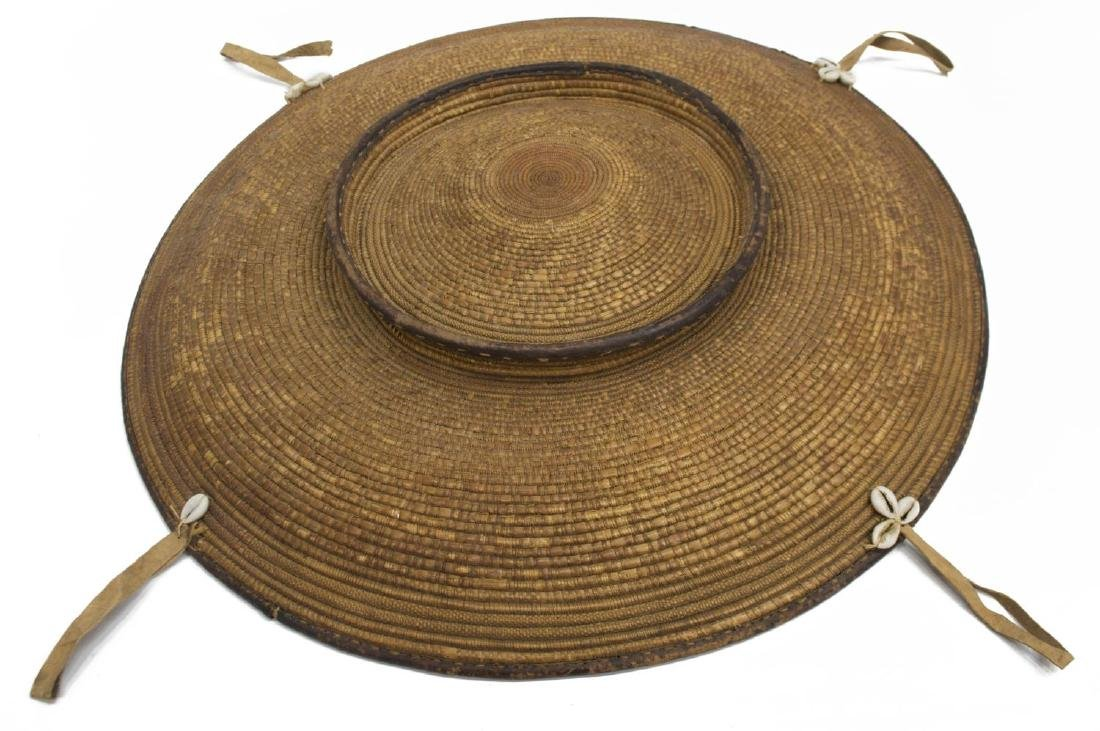 SUDANESE BASKETRY FOOD TRAY - 3