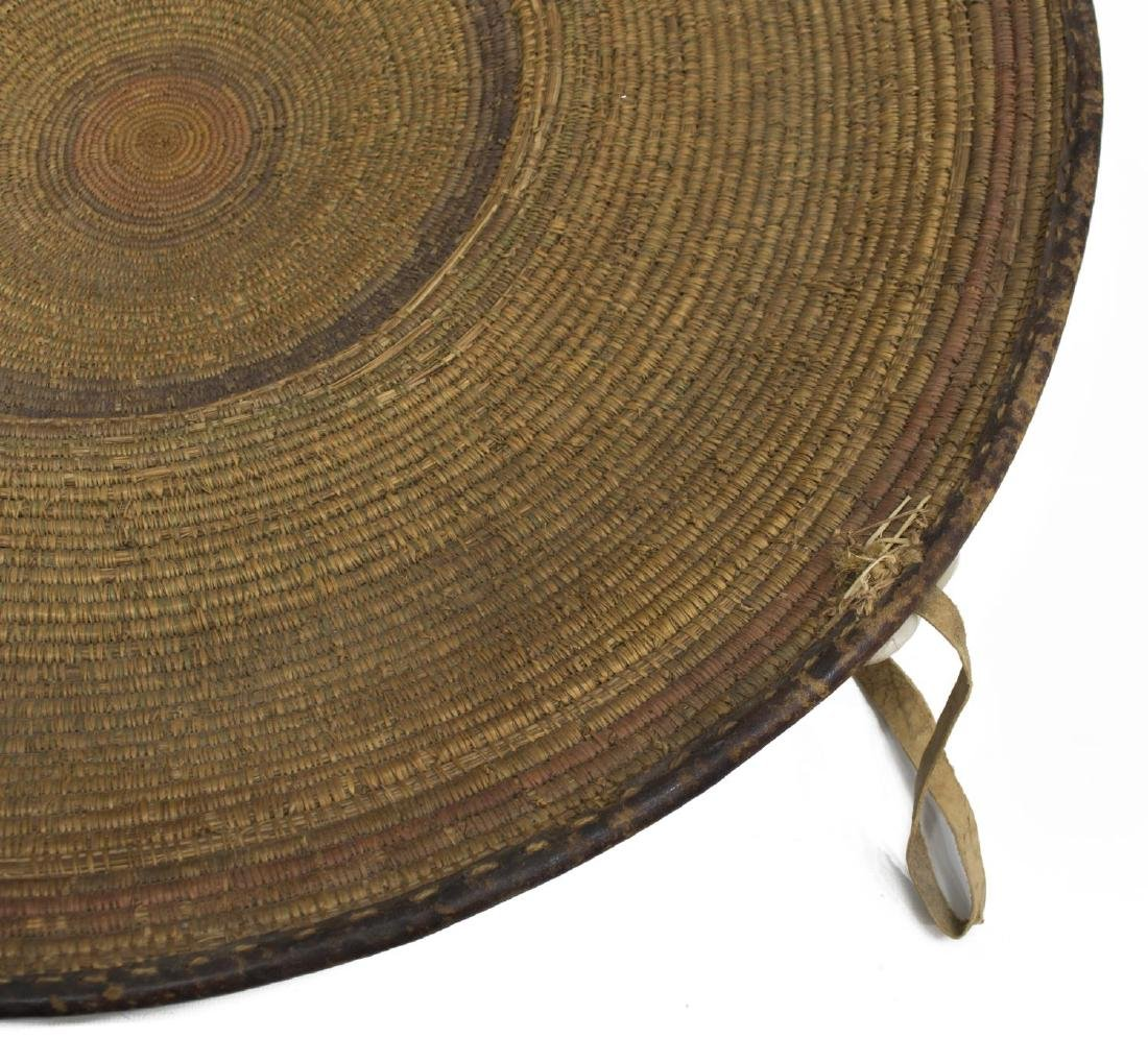SUDANESE BASKETRY FOOD TRAY - 6