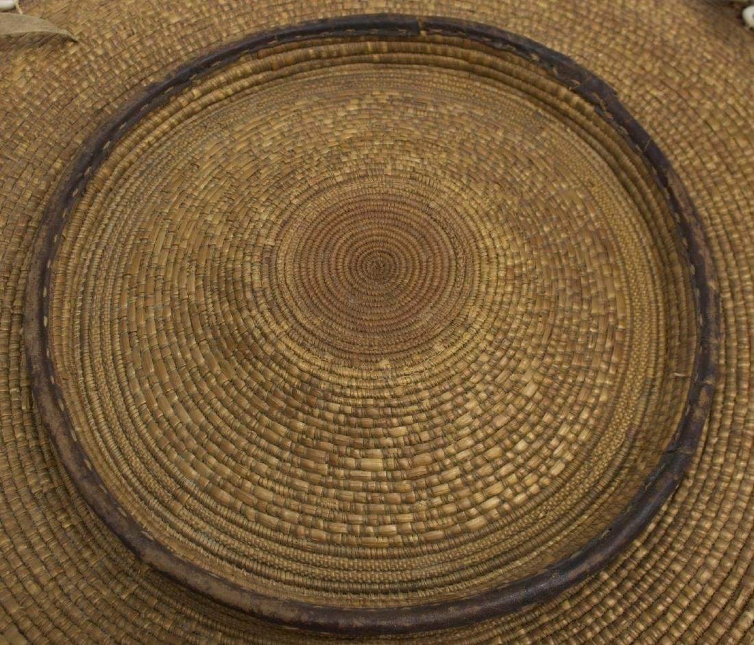 SUDANESE BASKETRY FOOD TRAY - 8