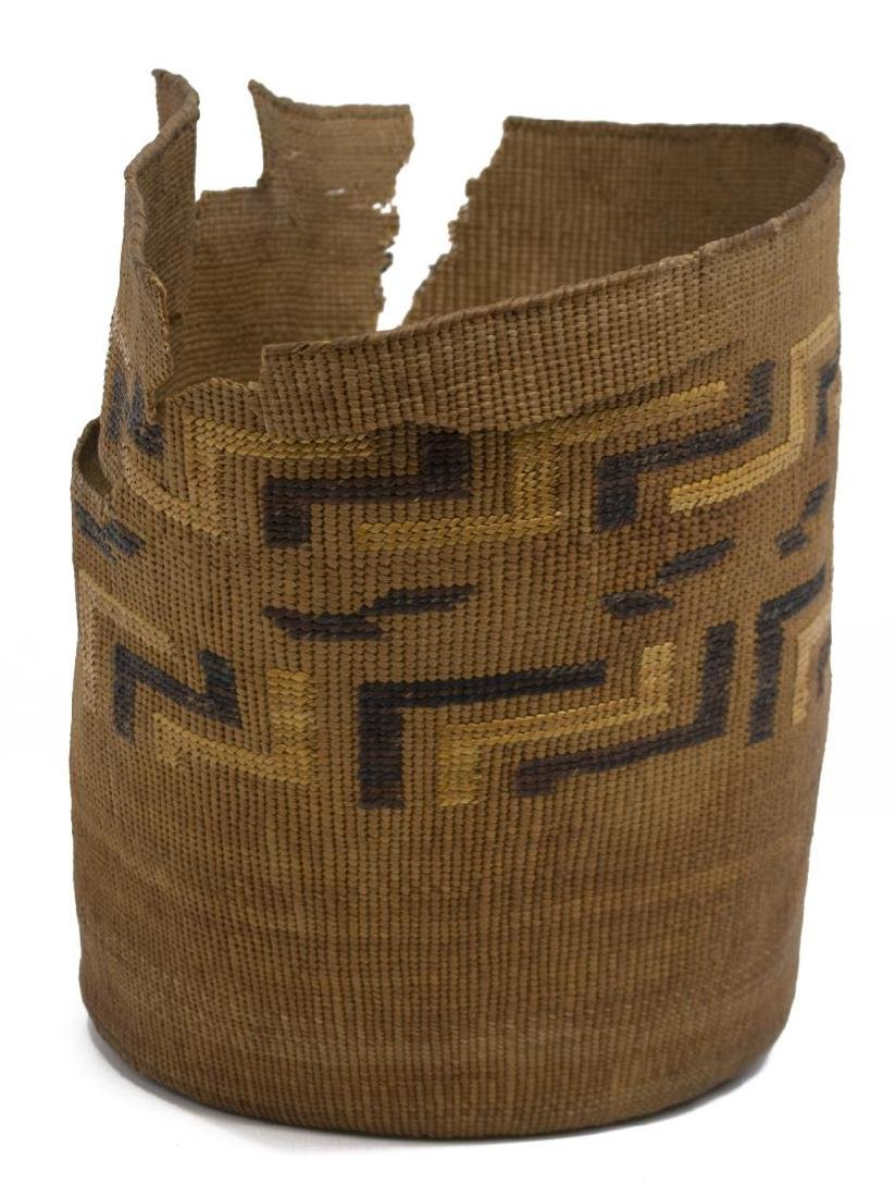 (2) TINGLET POLYCHROME BASKETS WITH LOSS - 7