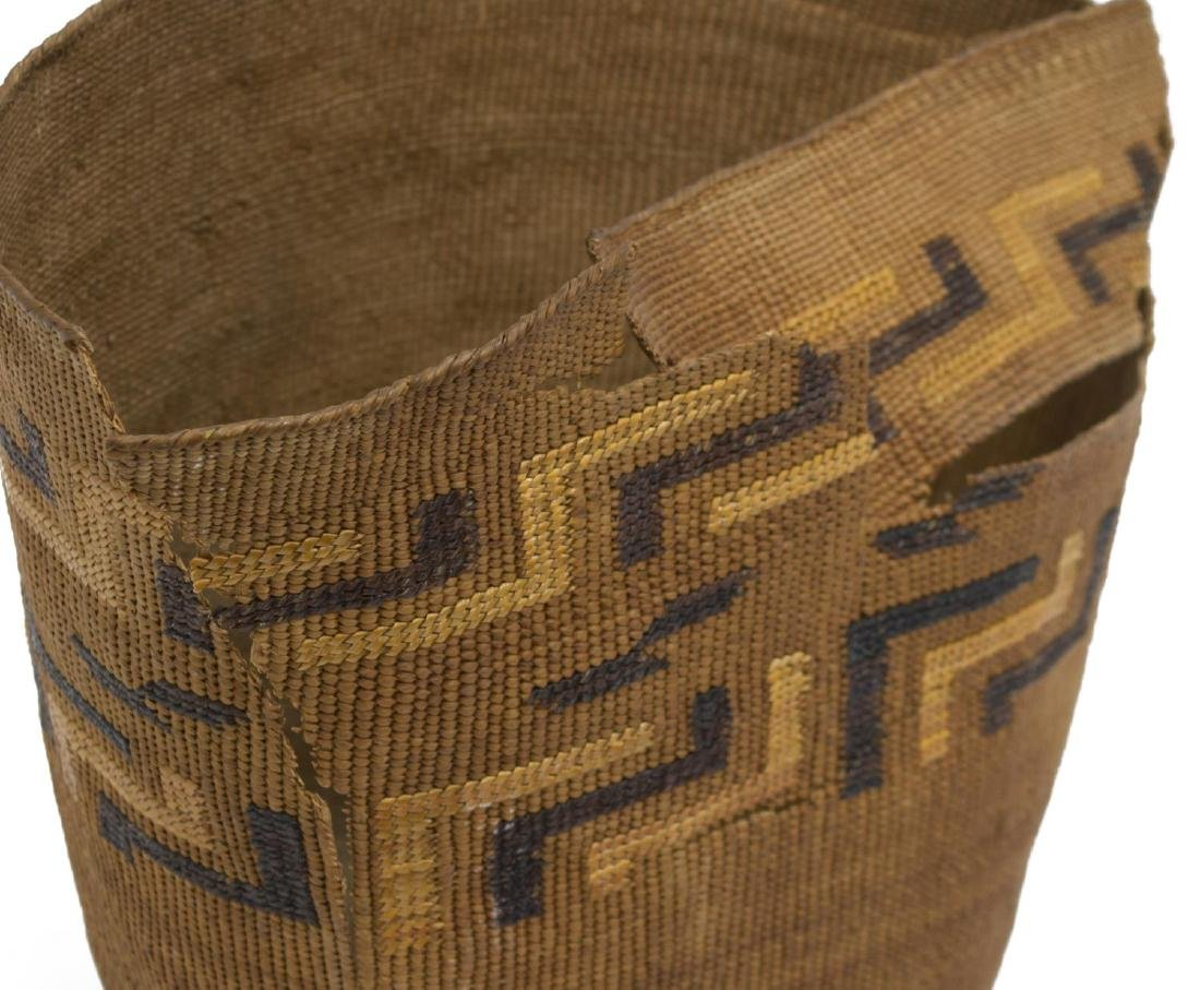 (2) TINGLET POLYCHROME BASKETS WITH LOSS - 8