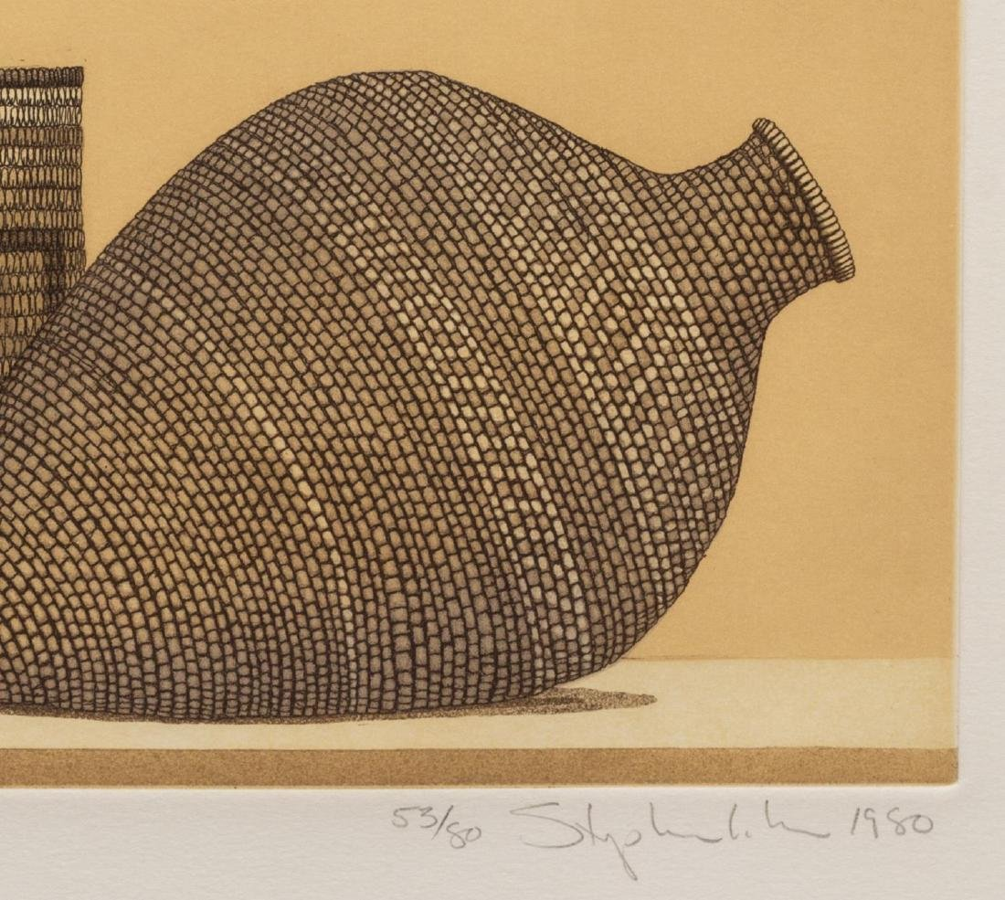 (3) STEPHEN LORBER (B. 1943) BASKET ETCHINGS - 5