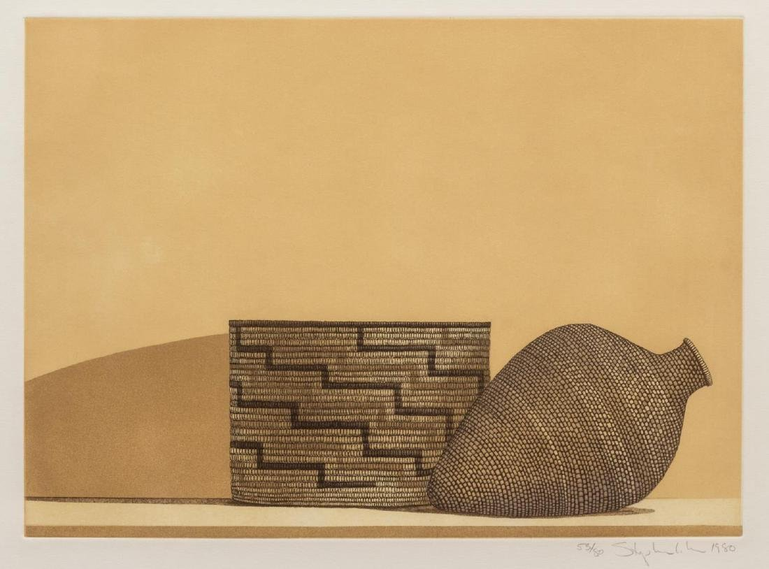 (3) STEPHEN LORBER (B. 1943) BASKET ETCHINGS - 6