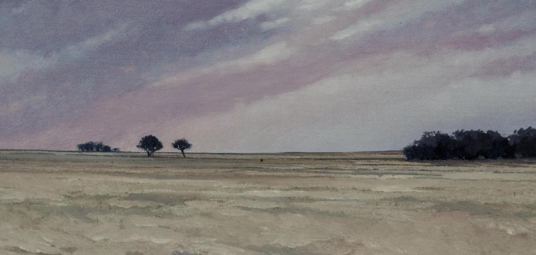 TALLIE MOORE BUSH (TEXAS 1933) WESTERN LANDSCAPE - 2