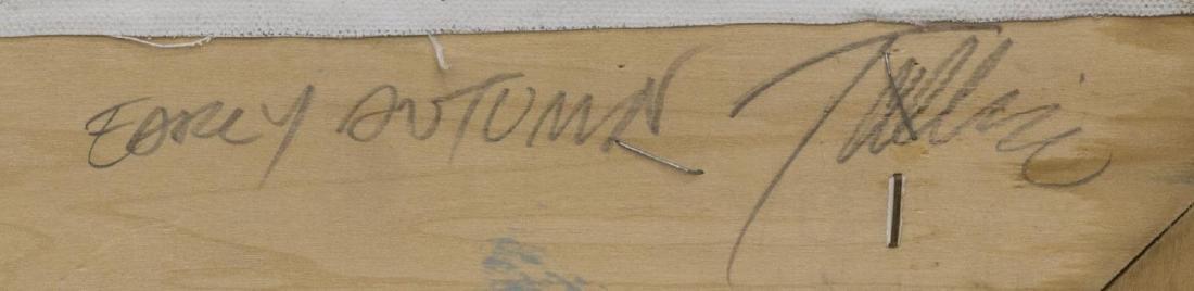 TALLIE MOORE BUSH (TEXAS 1933) WESTERN LANDSCAPE - 3