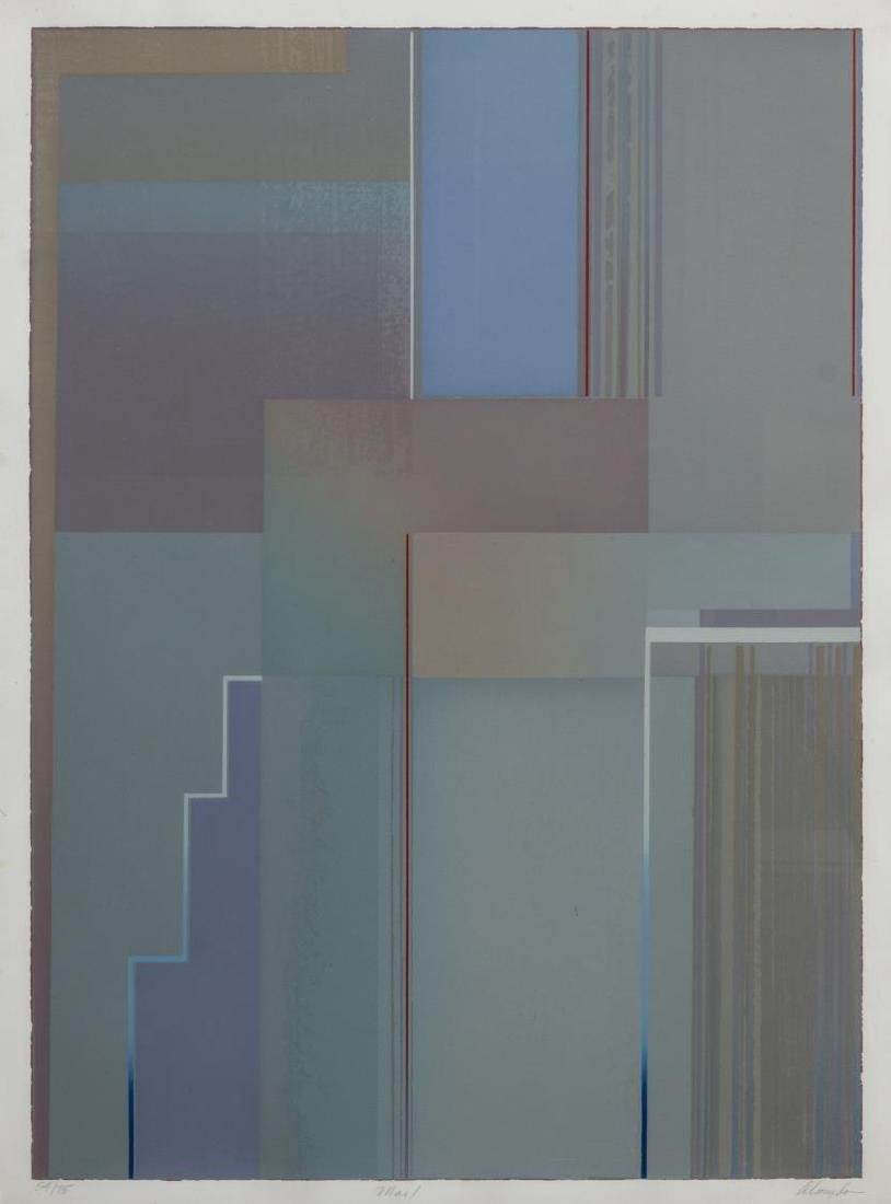 JOSEPH ALMYDA (1927-2011) SCREENPRINT, 'MAI I'