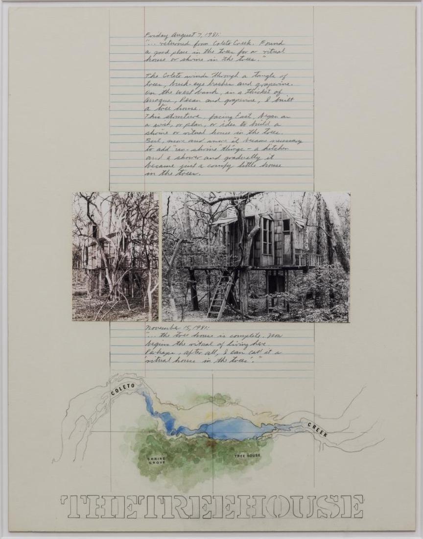 (2) ROY FRIDGE (TEXAS 1927-2007) ORIGINAL COLLAGES - 2