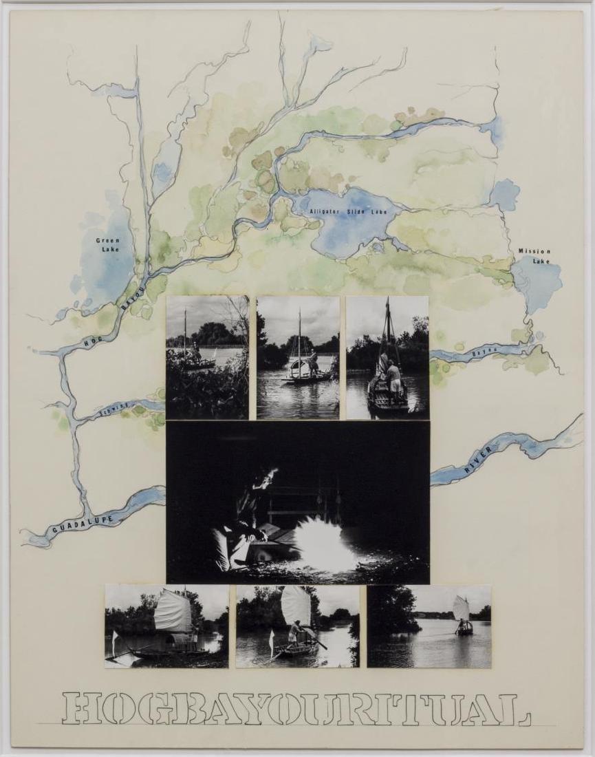 (2) ROY FRIDGE (TEXAS 1927-2007) ORIGINAL COLLAGES - 5