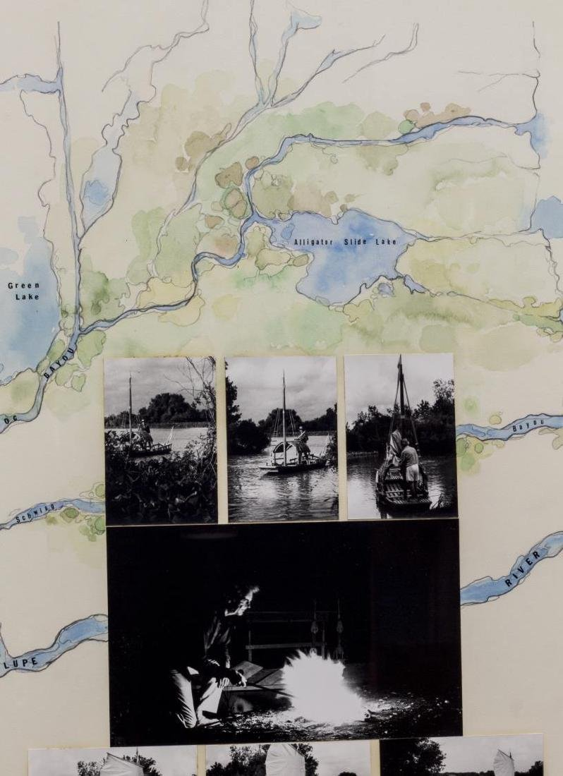 (2) ROY FRIDGE (TEXAS 1927-2007) ORIGINAL COLLAGES - 6