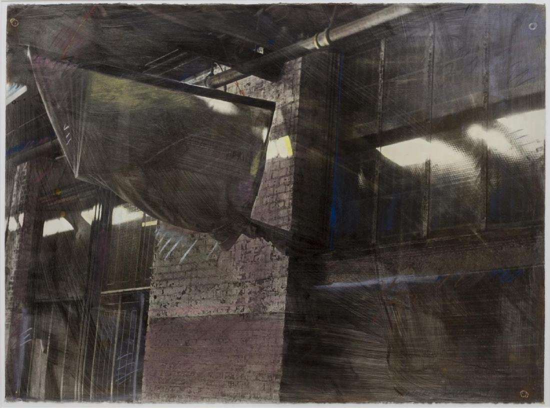 MADELAINE SHELLABY WORK ON PAPER, WAREHOUSE
