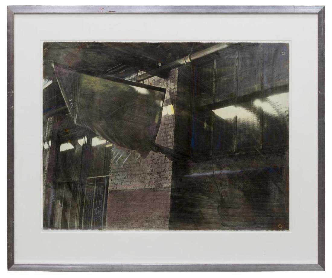 MADELAINE SHELLABY WORK ON PAPER, WAREHOUSE - 2
