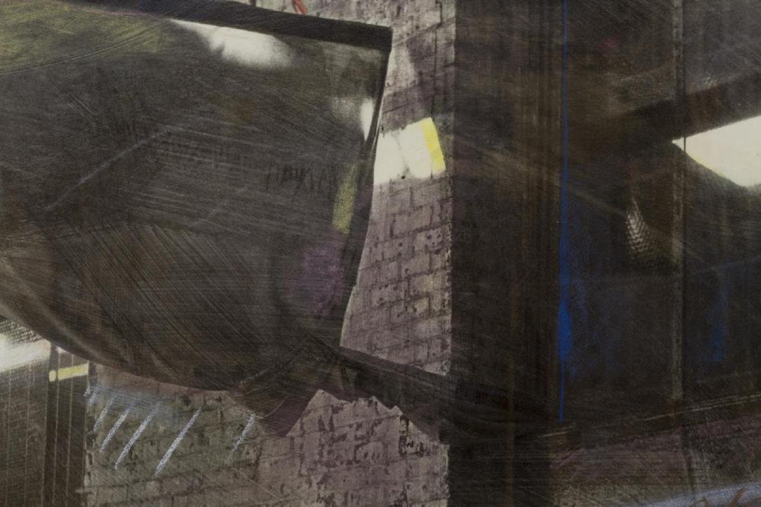 MADELAINE SHELLABY WORK ON PAPER, WAREHOUSE - 3