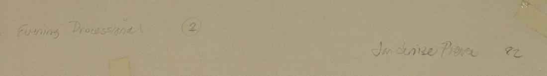 FRAMED PAPER COLLAGE ARTWORK, JAN DENISE PIERCE - 3