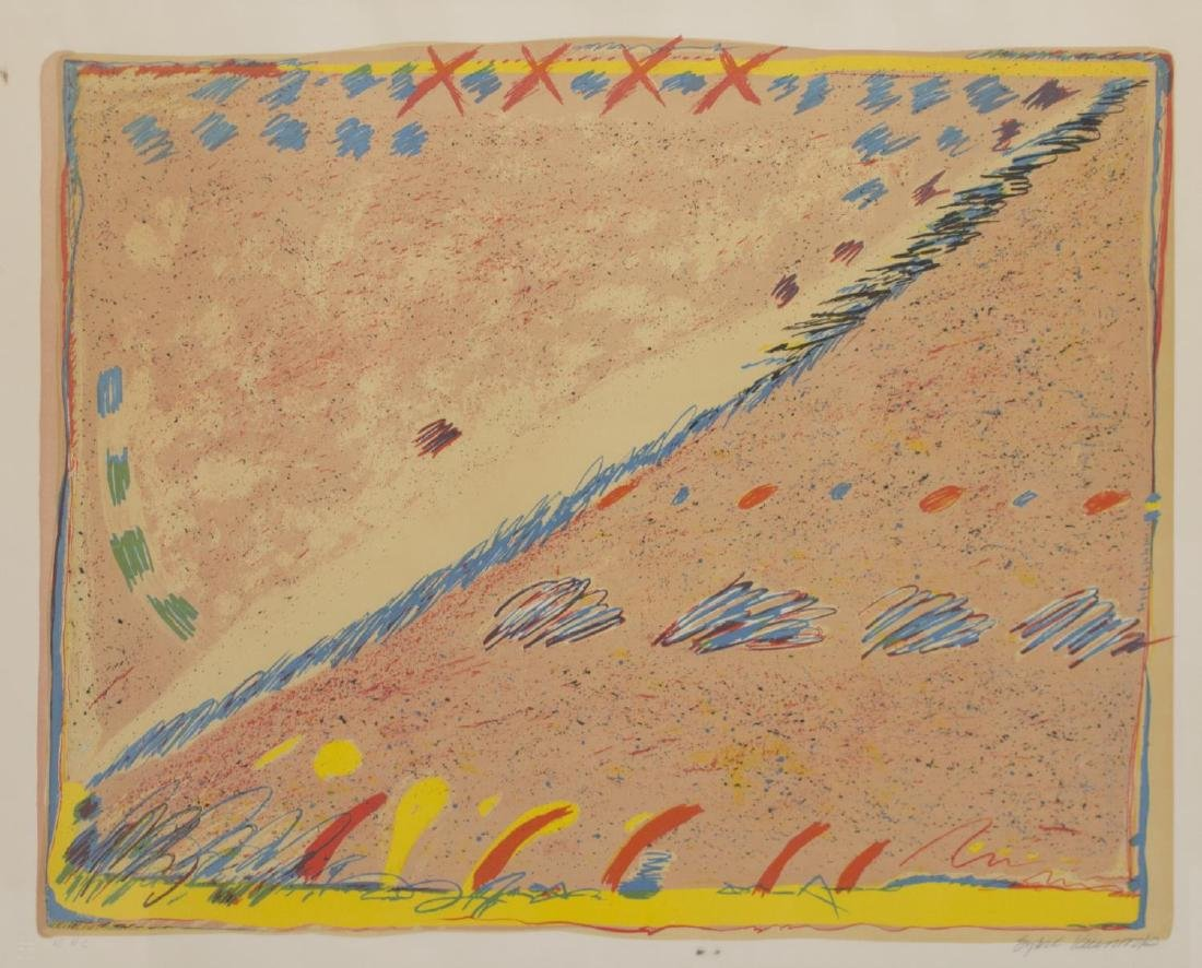 SYBIL KLEINROCK UNTITLED COLOR LITHOGRAPH PROOF