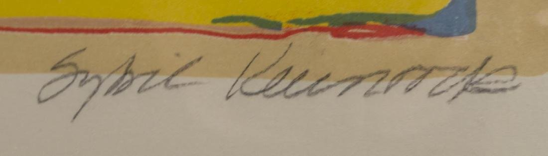 SYBIL KLEINROCK UNTITLED COLOR LITHOGRAPH PROOF - 3