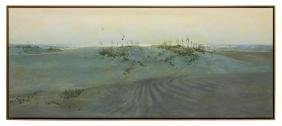 "WILLIAM (BILL) ZANER (TX), ""PADRE SANDS"", 1983"
