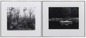 (2) GARY FAYE BLACK & WHITE PHOTOGRAPHS 20TH C