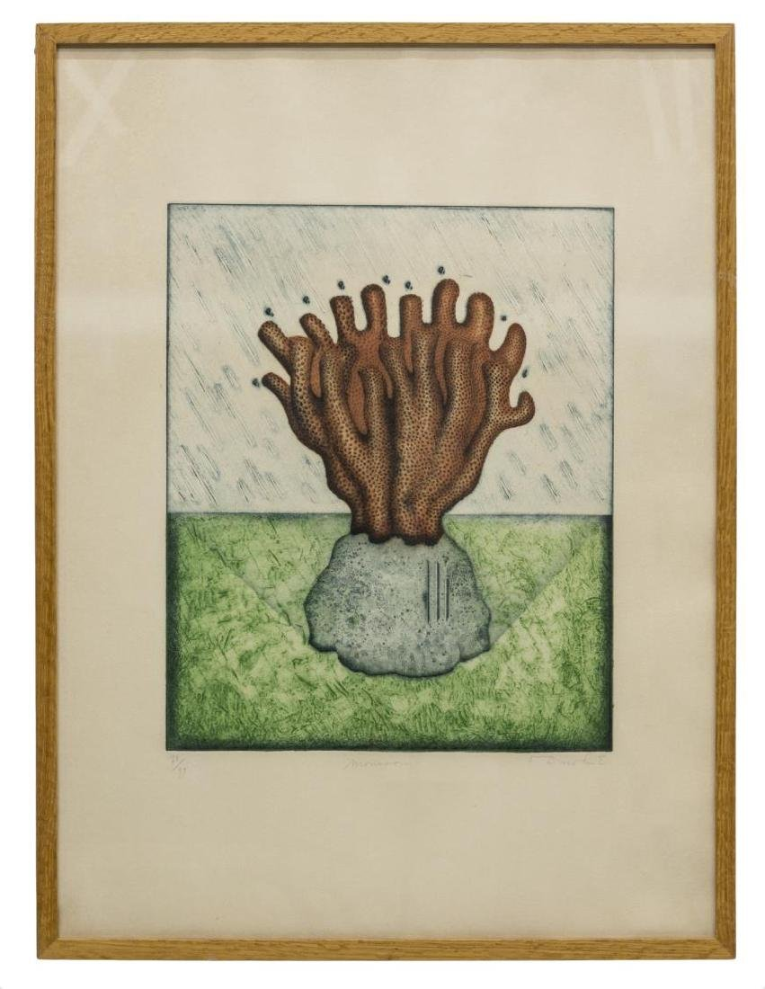 TIGHE O'DONOGHUE (B 1942) ETCHING & AQUATINT PRINT - 2