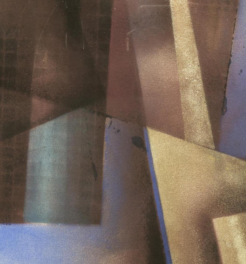 (2) FRAMED ARTWORK, DAVID MINTZER & WOVEN PAPER - 5