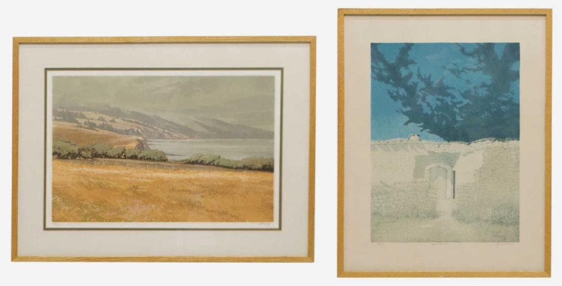 (2) FRAMED PRINTS, SCOTT ANTHONY & GEORGE TZANNES