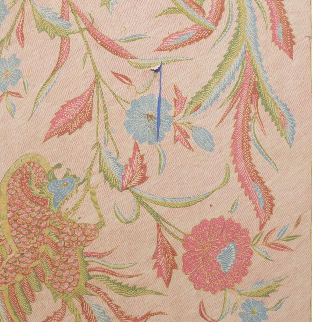 FRAMED JAVA SHOULDER CLOTH, C. 1920'S - 4