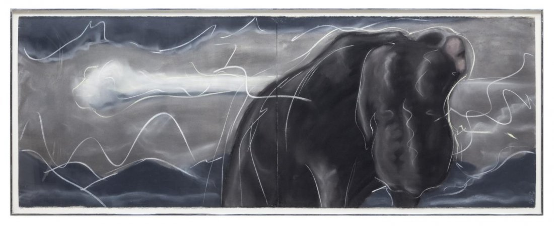 MARK MILLOFF 'LUTHER BEFORE THE STORM' PASTEL