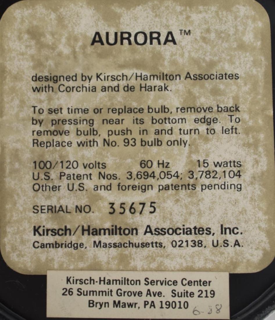 """""""AURORA"""" MODERN CHROME LAMP - 3"""