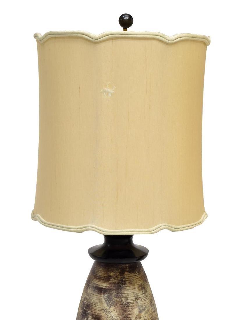 (PAIR) JAMES MONT CERAMIC TABLE LAMPS