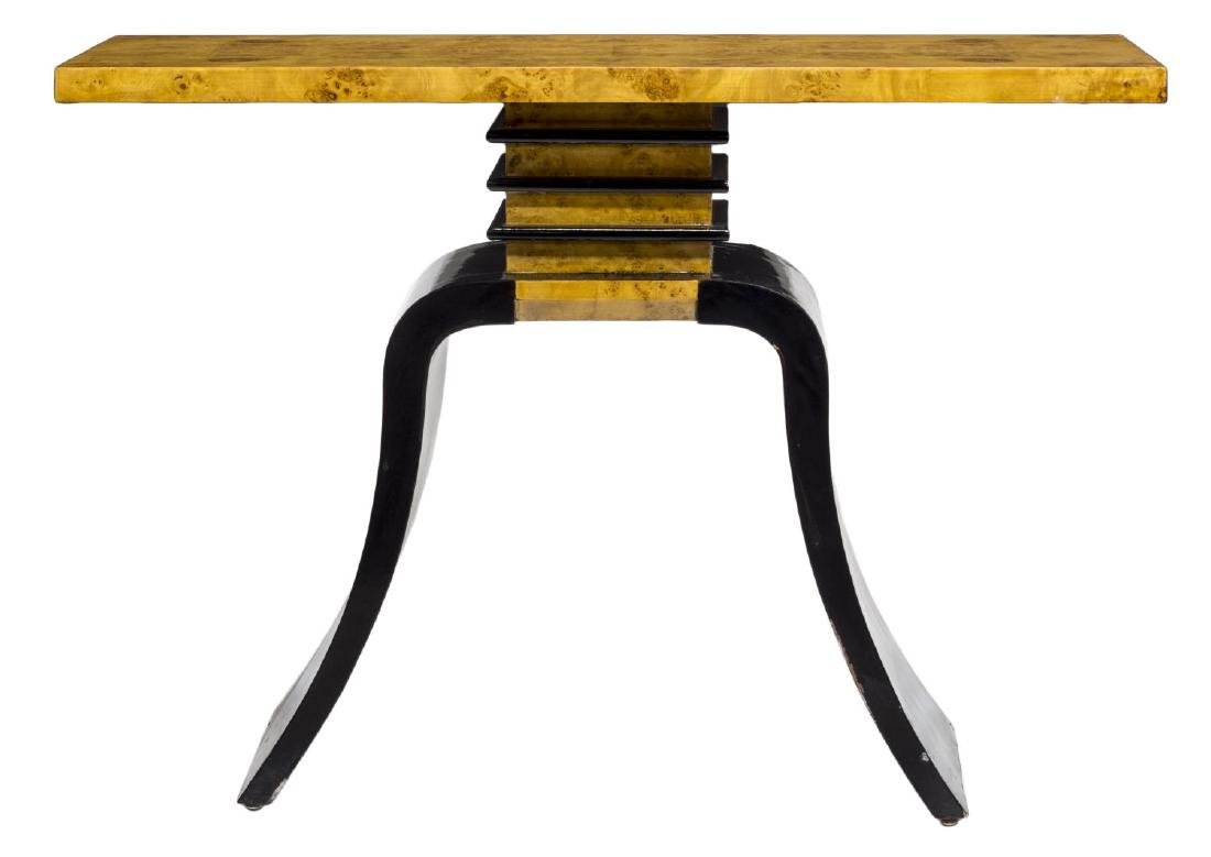 FRENCH ART DECO STYLE CONSOLE TABLE - 2