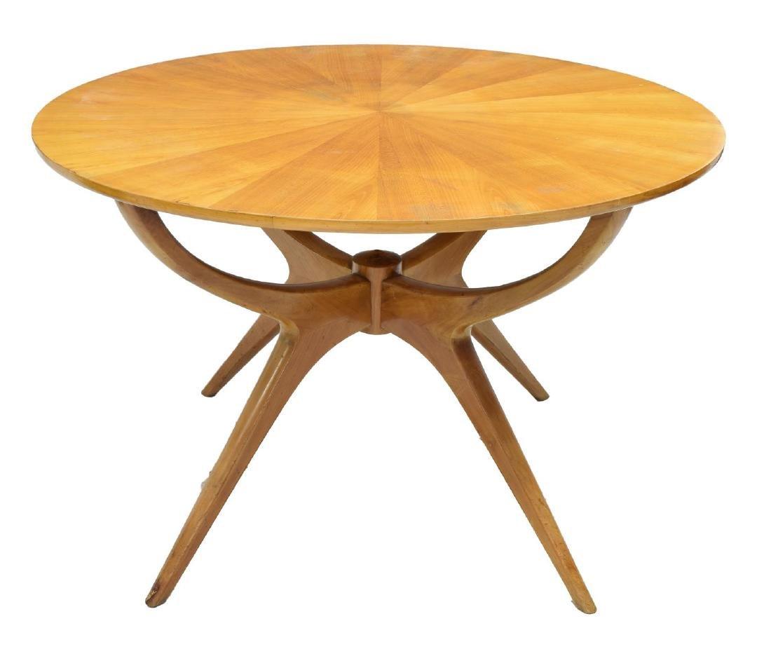 ITALIAN MID-CENTURY MODERN SPIDER DINING TABLE