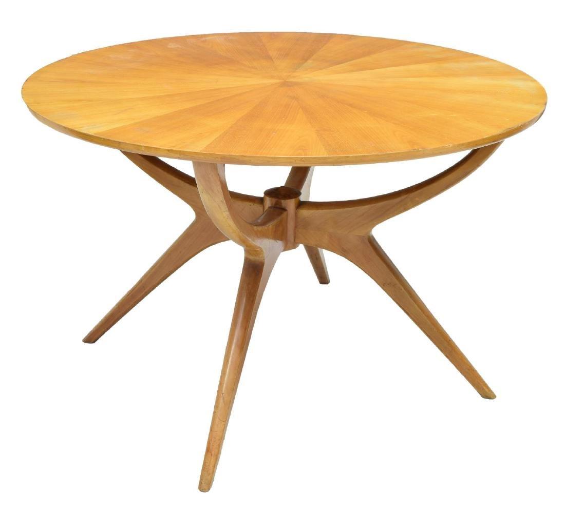 ITALIAN MID-CENTURY MODERN SPIDER DINING TABLE - 2