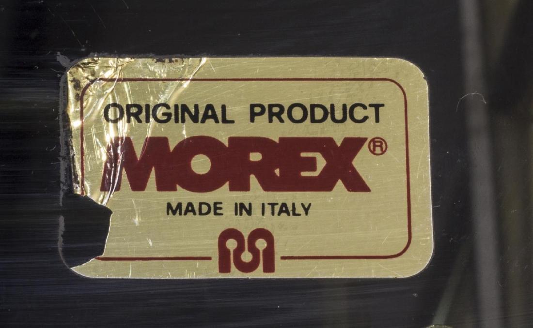 ITALIAN MODERN DESIGN BRASS & GLASS SERVICE CART - 3