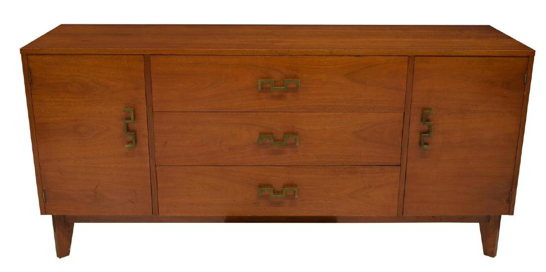 TOMMY PARZINGER STYLE MID-CENTURY CREDENZA - 2