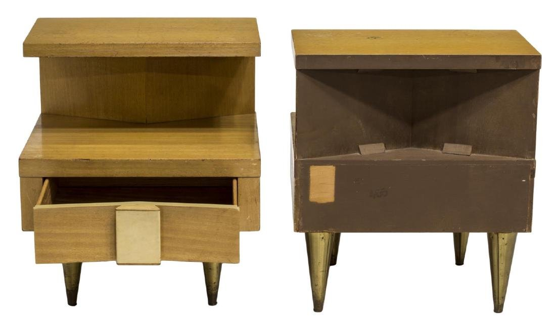 (2) MID-CENTURY MODERN BEDSIDE CABINETS - 2