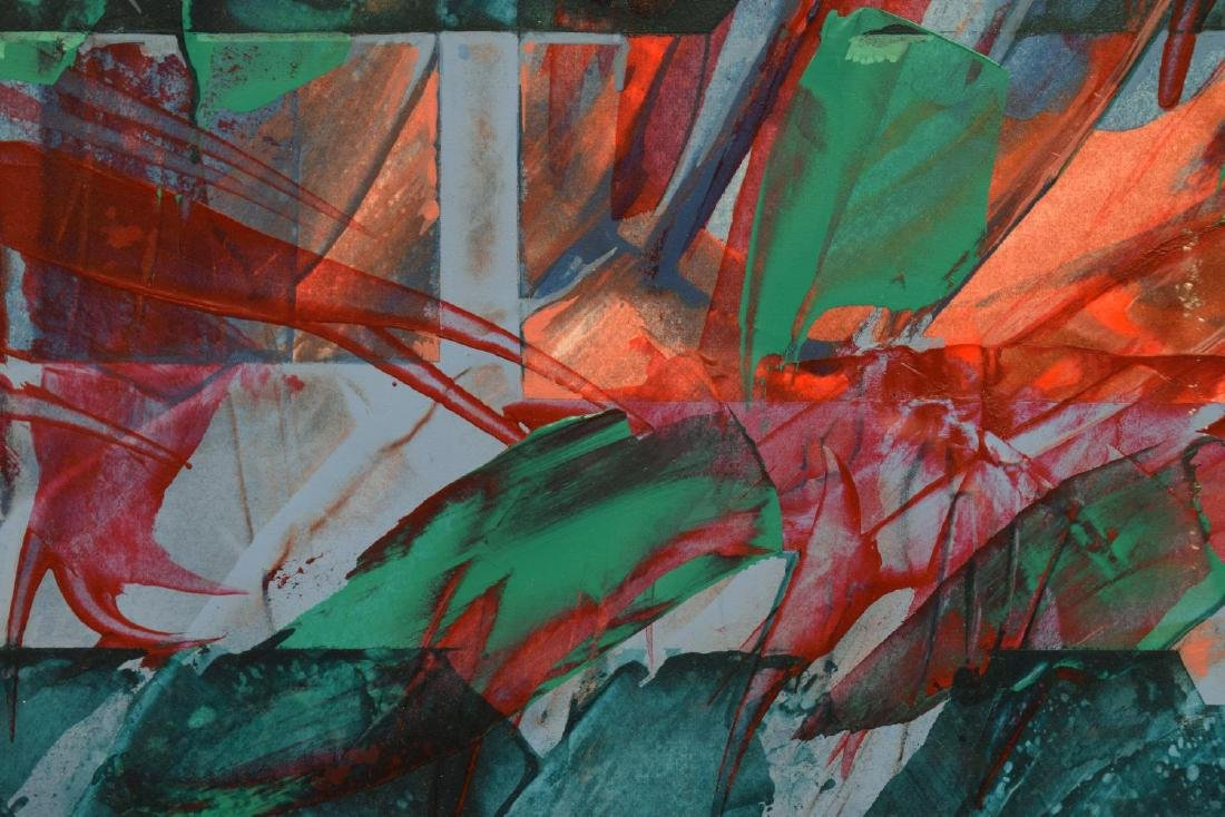 (3) CAROL F. ROSE MODERN ABSTRACT WORKS ON PAPER - 3