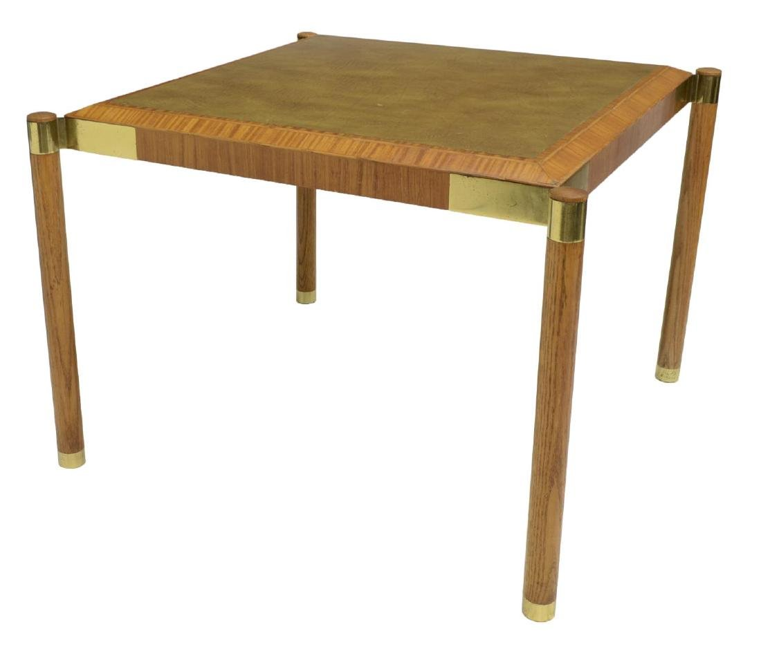 BAKER FURNITURE MODERN BREAKFAST TABLE