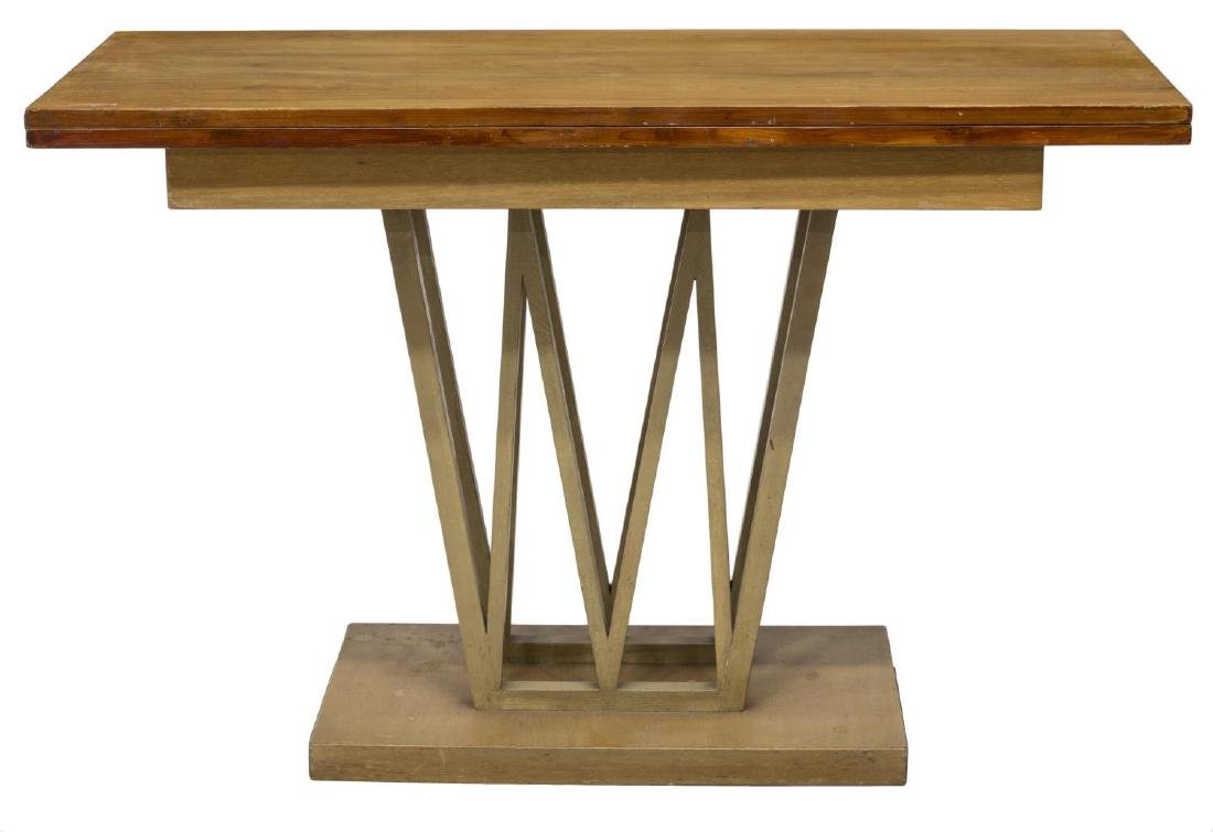 FOLD TOP CONSOLE TABLE ATTRIB. PAUL FRANKL - 2