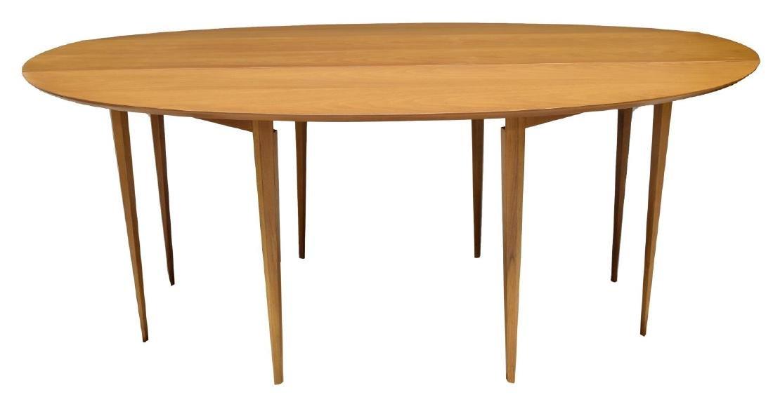 """EDWARD WORMLEY DUNBAR 72""""L DROP LEAF TABLE - 4"""