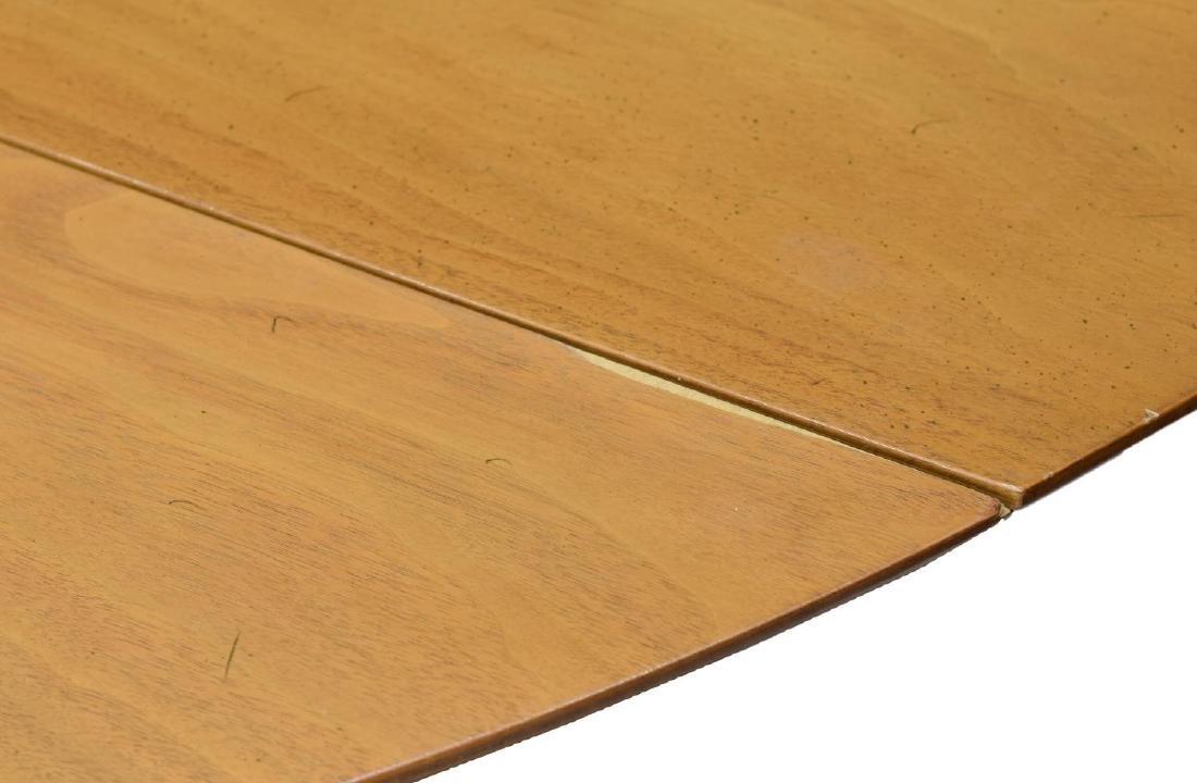 """EDWARD WORMLEY DUNBAR 72""""L DROP LEAF TABLE - 5"""