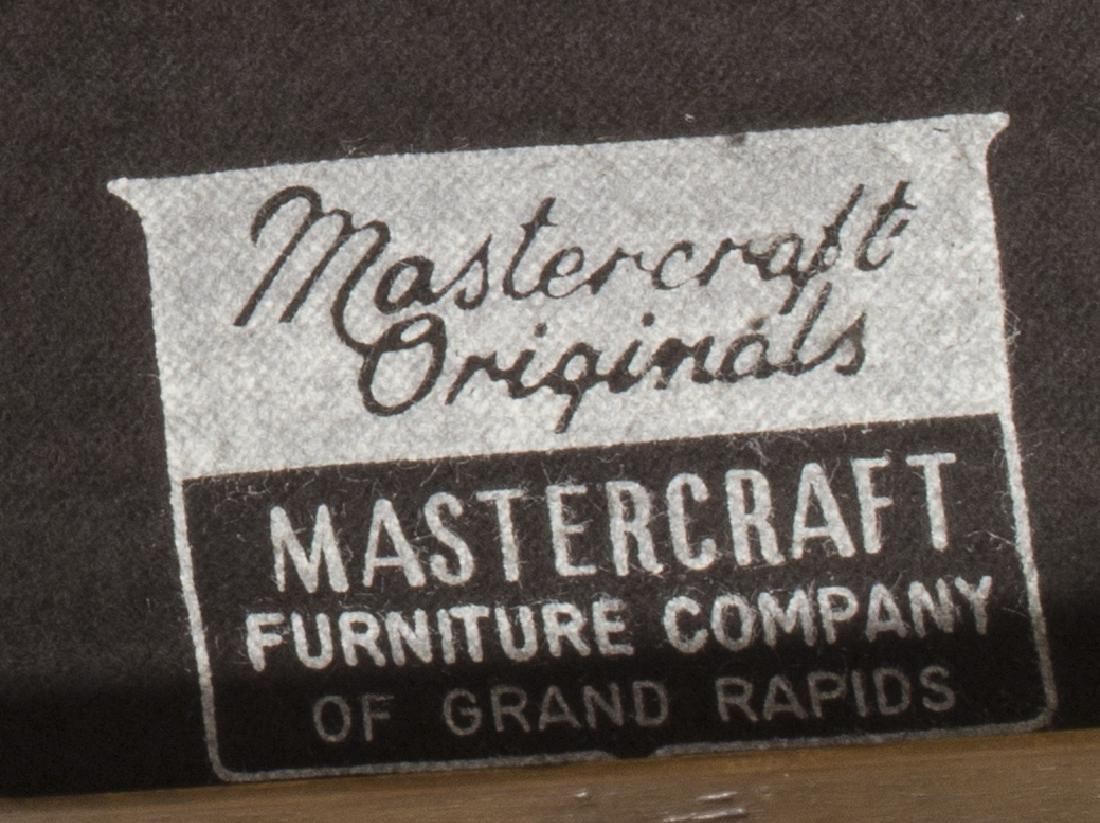 MASTERCRAFT BRASS & ROSEWOOD FOUR DOOR CABINET - 4