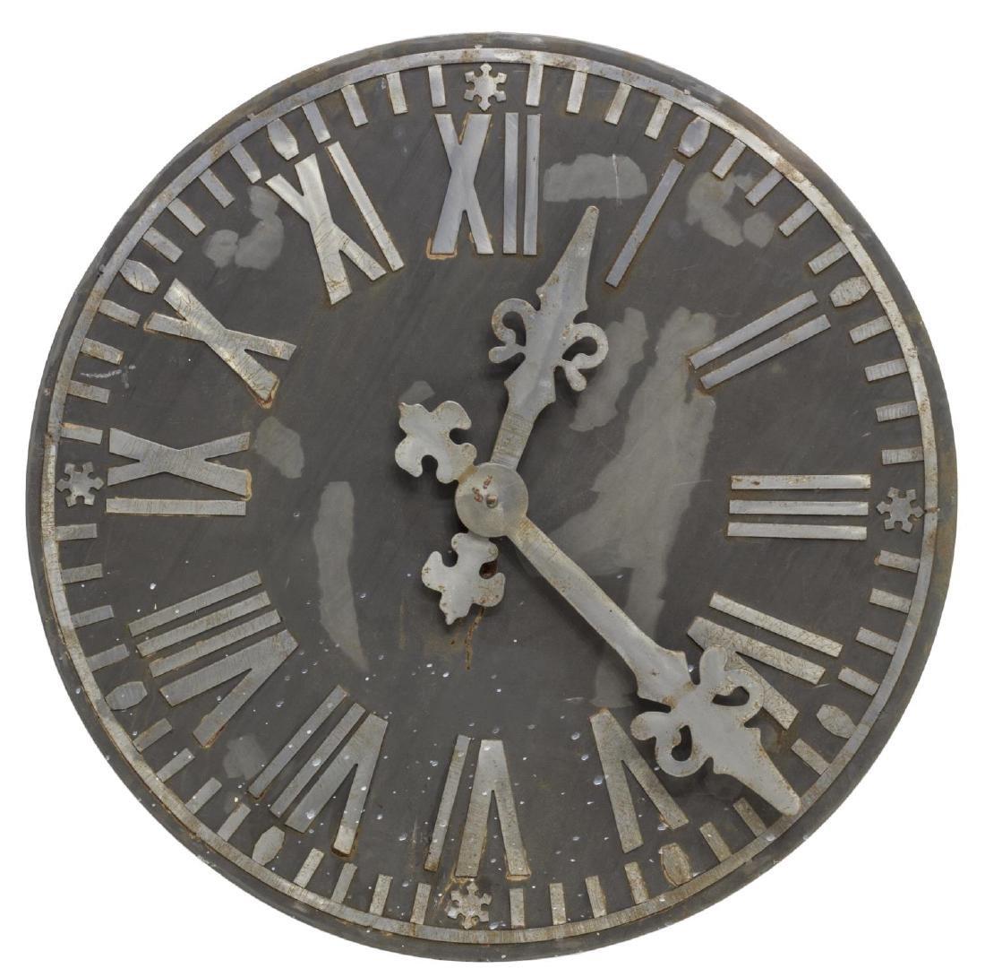 LARGE MEXICO DECORATIVE STEEL CLOCK WALL ART