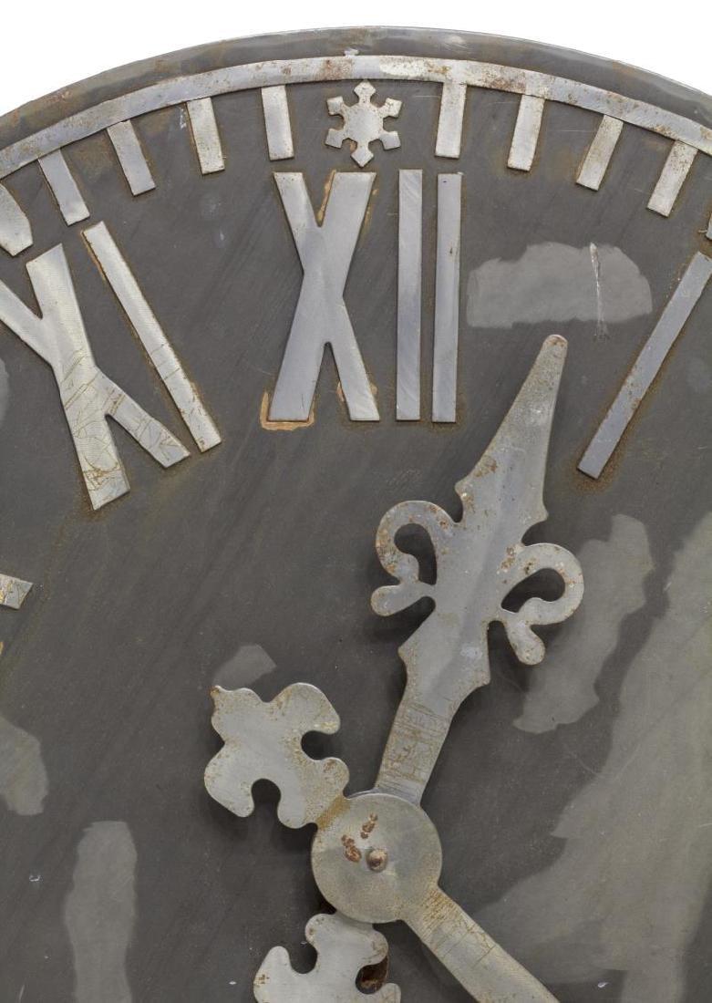 LARGE MEXICO DECORATIVE STEEL CLOCK WALL ART - 2