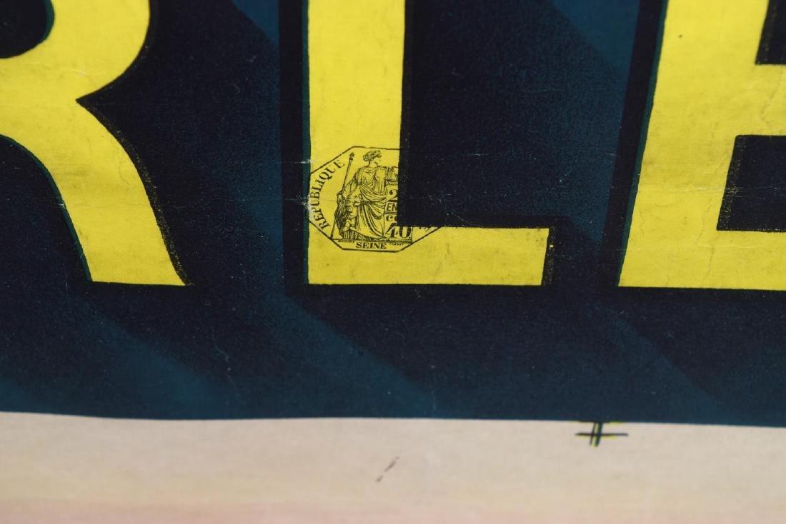 """JENA D'YLENN 1922 RHUM CHARLESTON POSTER 66""""H - 5"""